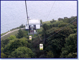 Cable car to summit